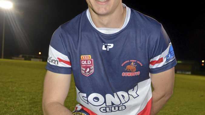 Warwick Cowboys winger and goalkicker Dan Watson.