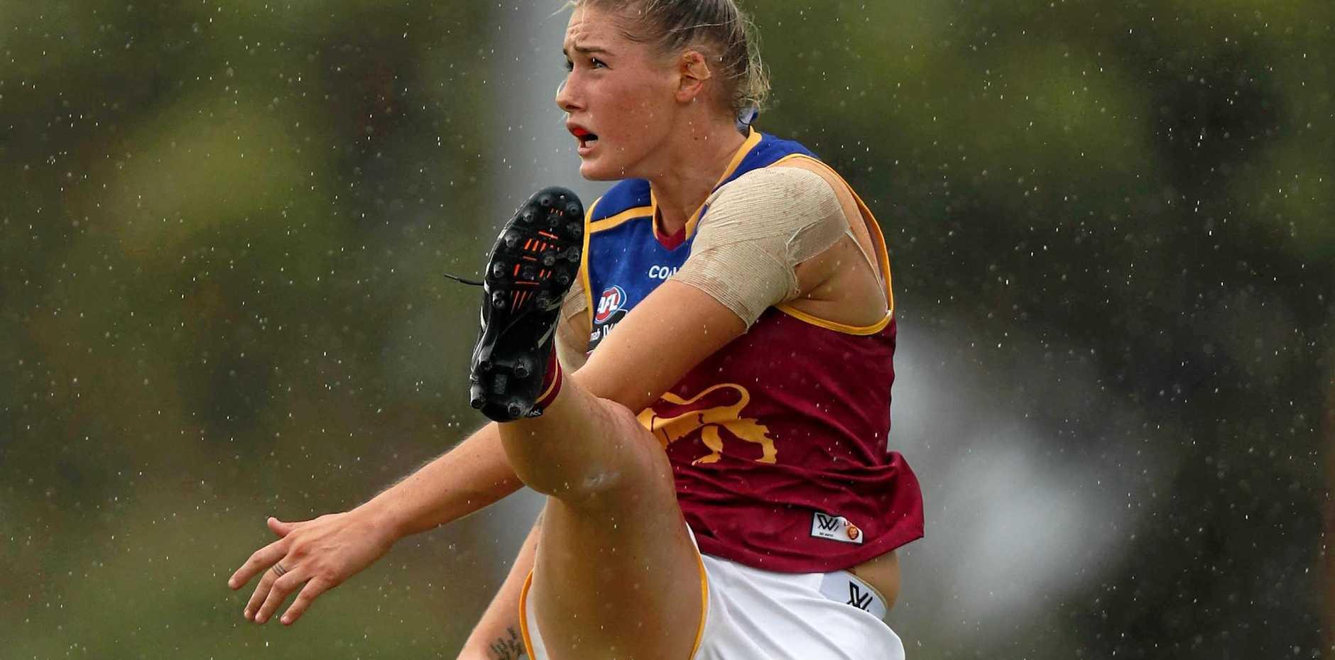 Tayla Harris of the Brisbane Lions.