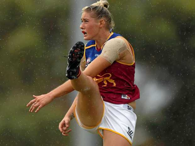 Tayla Harris of the Brisbane Lions.