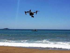 Shark spotters go deeper with drone data