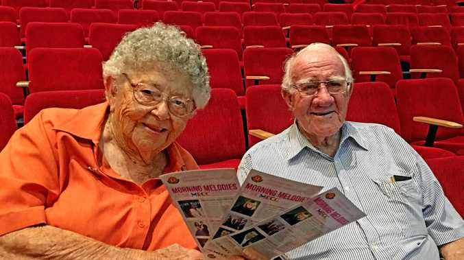 Fay Rae and Bill Goodchild have both been regular Morning Melodies patrons in Mackay for many years.