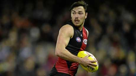 Michael Hibberd in action for the Essendon Bombers in 2015.