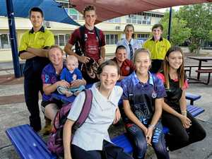 Ipswich girl, 11 studies science with seniors