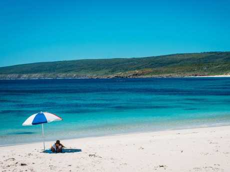Even the spectacular beaches surrounding Perth can't pull a crowd.