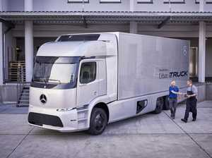 Mercedes-Benz trials electric truck