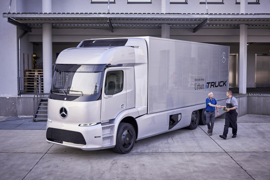Mercedes-Benz has trialed an electric truck.