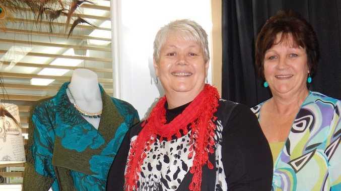 Alma's Wardrobe's Alexandra Weber and Maree Mitchell