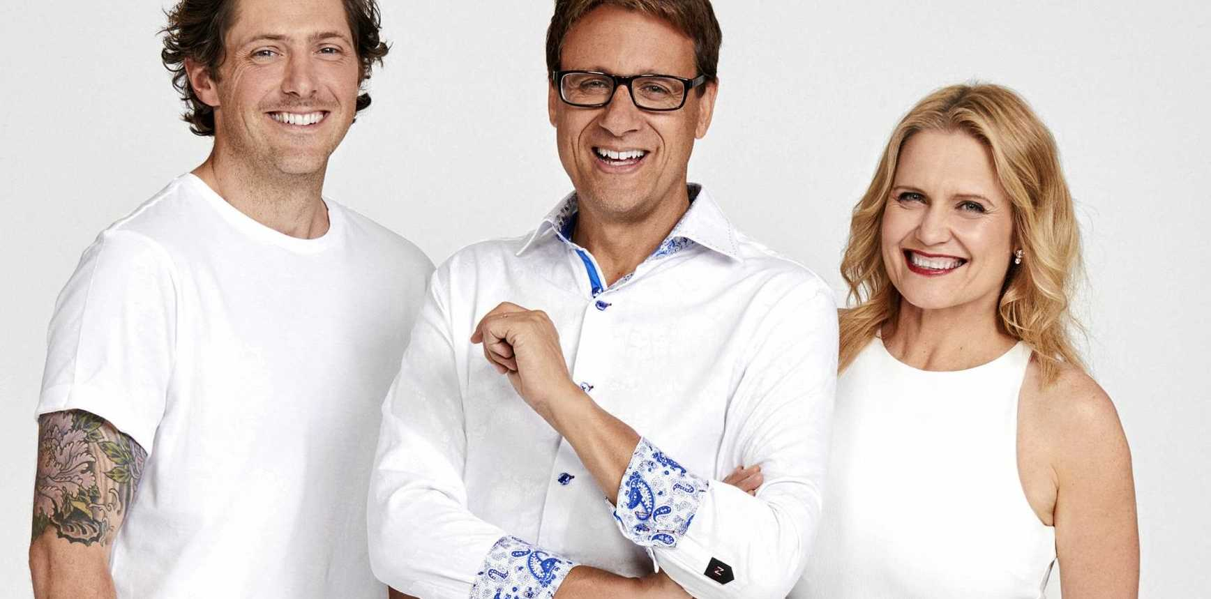 Charlie Albone, Andrew Winter and Shaynna Blaze return for season 10 of Selling Houses Australia. Supplied by Foxtel.