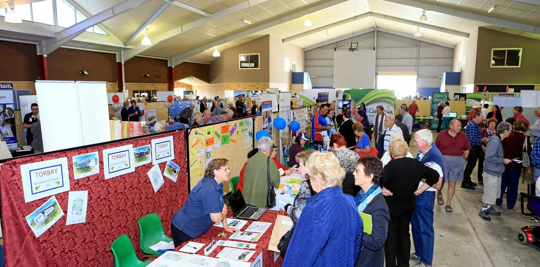 LOTS TO SEE: The 12th annual Seniors expo attracted more than 90 exhibitors.