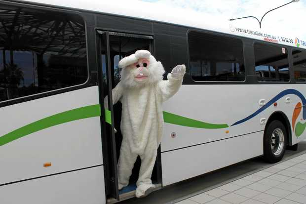 ALL ABOARD: Free holiday buses will run again this Easter.