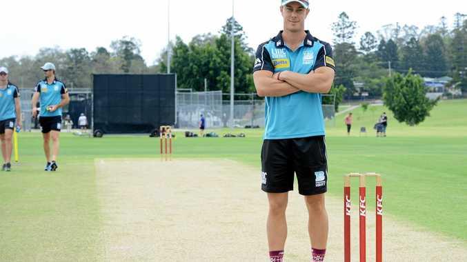 HOW'S THAT: Brisbane Heat Chris Lynn is headed to Kin Kin Oval.
