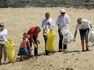Clean Up Australia makes a comeback in Iluka