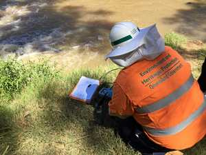 Results in of water tests in four major CQ rivers
