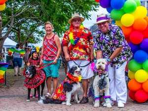 Put your best foot forward for Pride Paws Parade