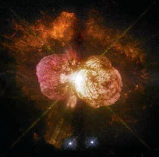 Eta Carinae as photographed by NASA.