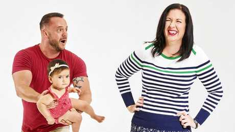 Walt Collins and Jody Allen will star in Stay at Home Mum on the Seven Network.