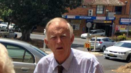 NOT FORGOTTEN: Winton Leslie Smith, 80, pictured outside Lismore Court House, pleaded guilty to historic child sex assault crimes on a 13-year-old girl.