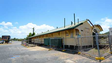 The old Yeppoon Railway station is to be repurposed as part of a redevelopment of the old site.