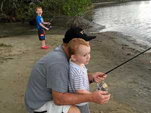 Reel in the fun as you fish with the kids