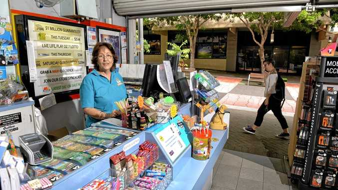 GET IT RIGHT: Ipswich City Mall Newsagents owner Pauline Williamson wants to see the redevelopment of Ipswich City Square succeed.