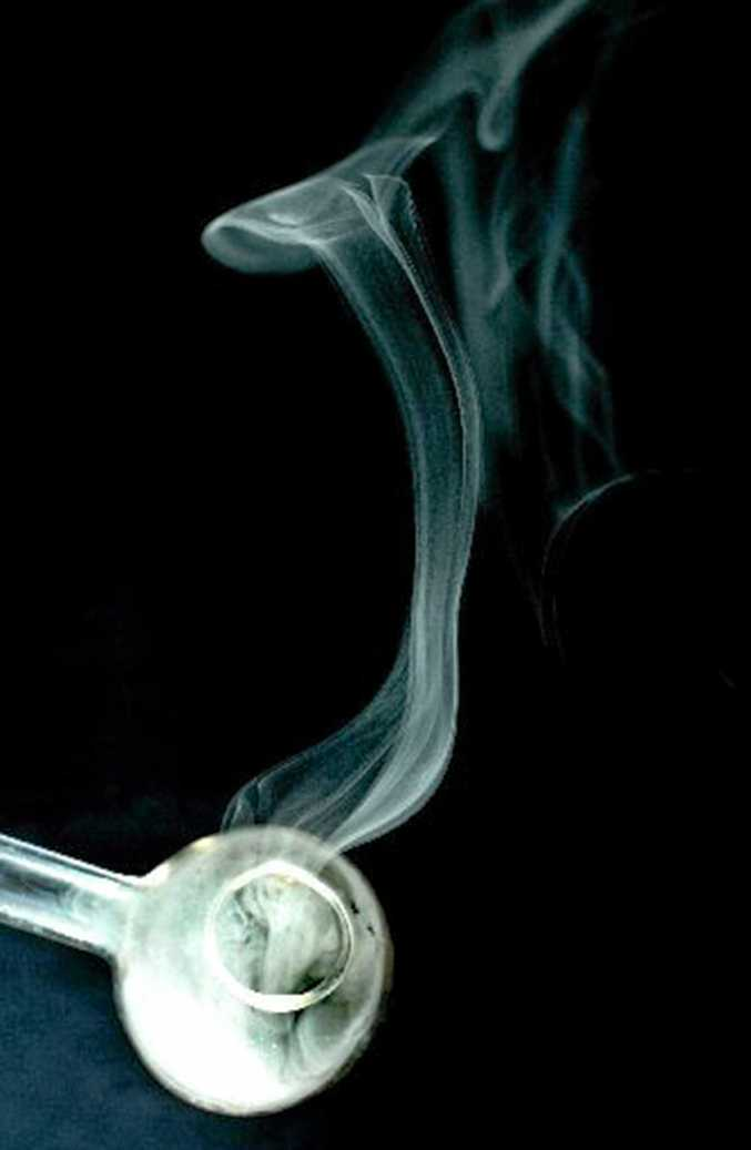 EVIL EFFECTS: A glass pipe, commonly used by ice addicts to vaporise the drug before inhalation.