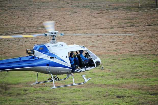 CLOSE EYE: Helicopter patrols will take place throughout the region until the end of February.
