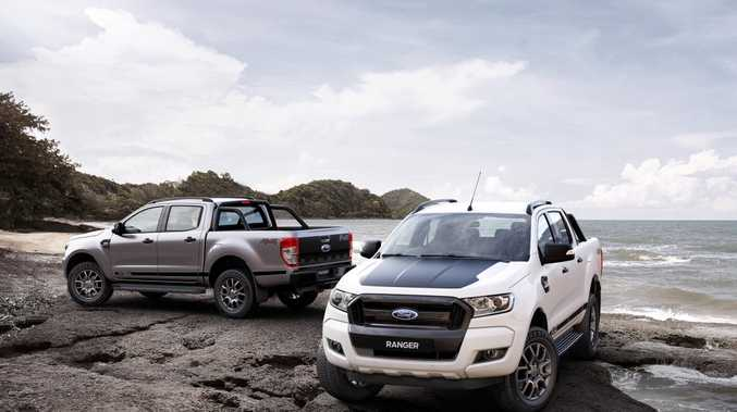 STEALTH UTE: Ford is cashing in on its hugely popular Ranger ute with an XLT-based FX4 special edition.  The manual model costs $58,915 and the auto $61,115.
