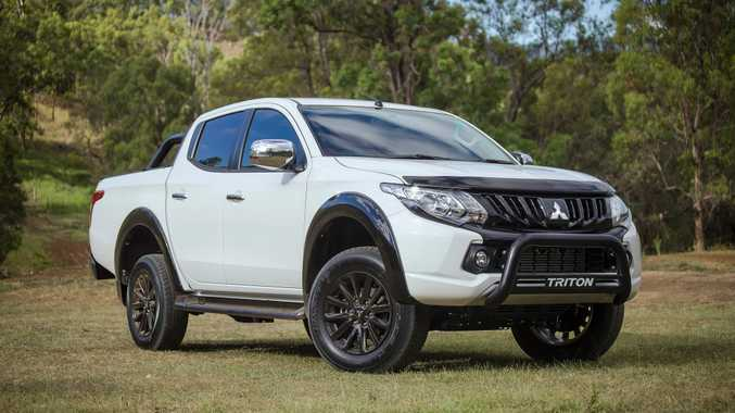 WORK STYLE: New Mitsubishi Triton GLS Sports Edition offers more visual attitude and costs $45,990 with manual gearbox and $48,490 the auto.