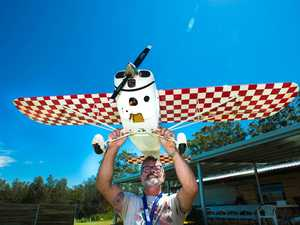 Scale model planes rally