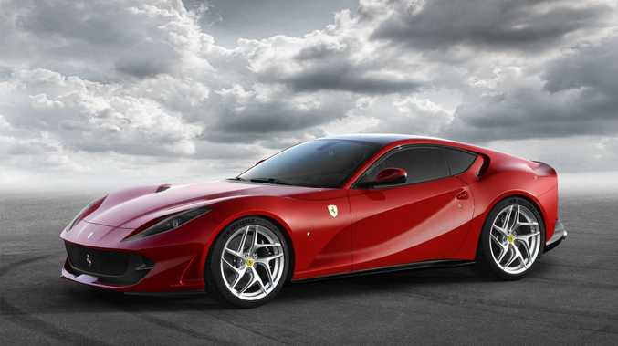 RED DEVIL: Ferrari 812 Superfast offers 588kW and 718Nm from its 6.5-litre V12, meaning a zero to 100kmh time of 2.9-seconds and a top speed of more than 340kmh.