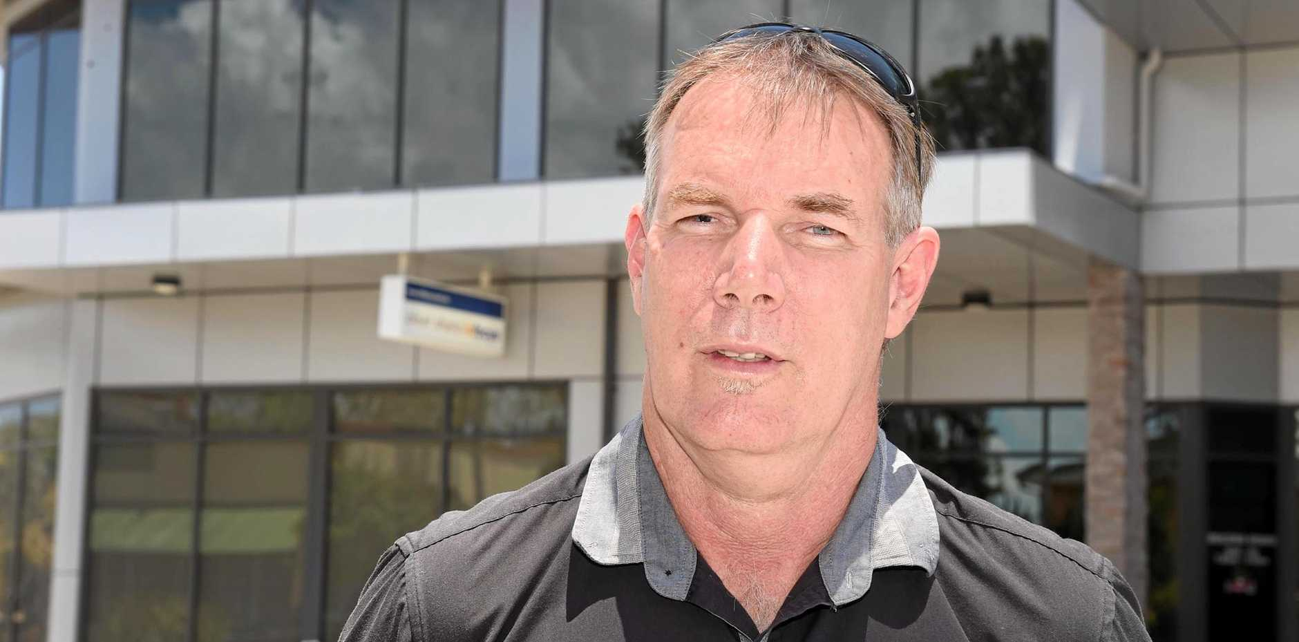 UNHAPPY: Former Smart City Vocational College Hervey Bay trainer and assessor Justin Burnham.