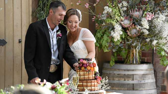 Married at First Sight exes Sean Hollands and Susan Rawlings.