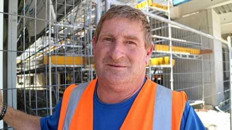 Builder Vaughan Williams, who lost his own home in the 2011 earthquake, says construction jobs are finally starting to become available to locals, overseas workers and visitors.
