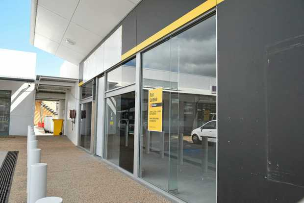 The former Dick Smith store in Gladstone Central is undergoing renovations for the new tenants.