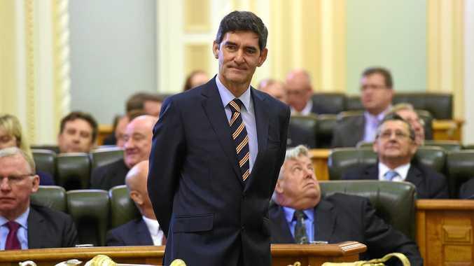 PROUD LEGACY: Queensland Speaker of the House, independent MP Peter Wellington.