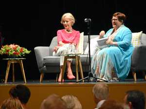 Diners come for lunch with Quentin Bryce