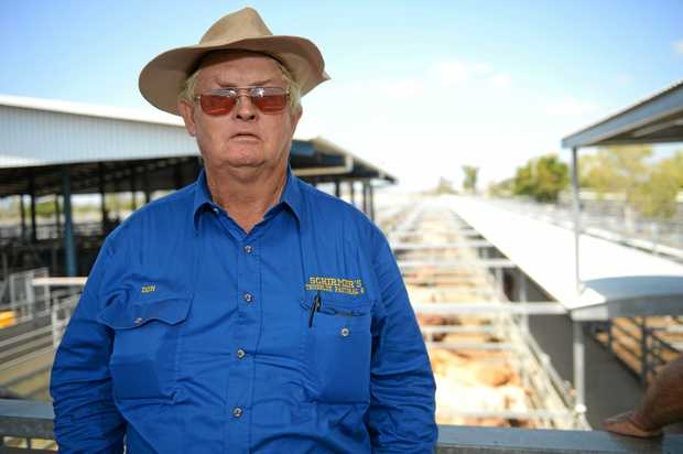 CATTLE SALES: True Blue livestock carrier Don Schirmer says graziers are counting on the skies to open up so prices strengthen.