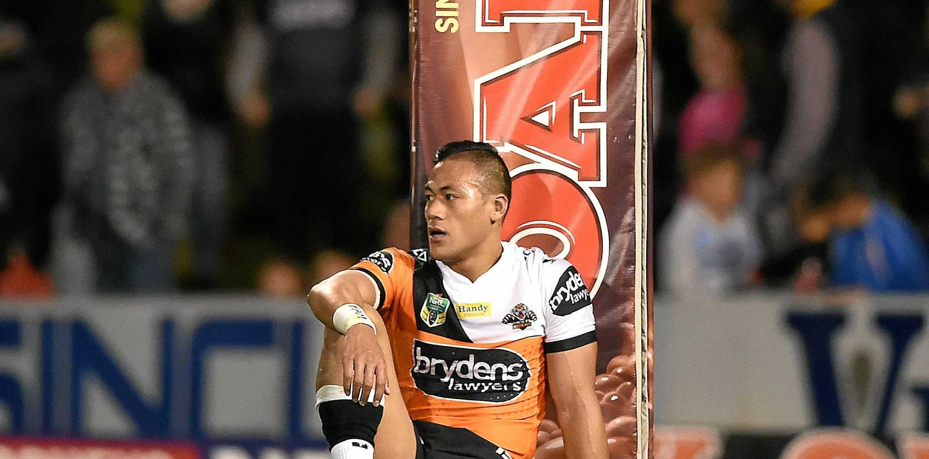 Tim Simona of the Wests Tigers.