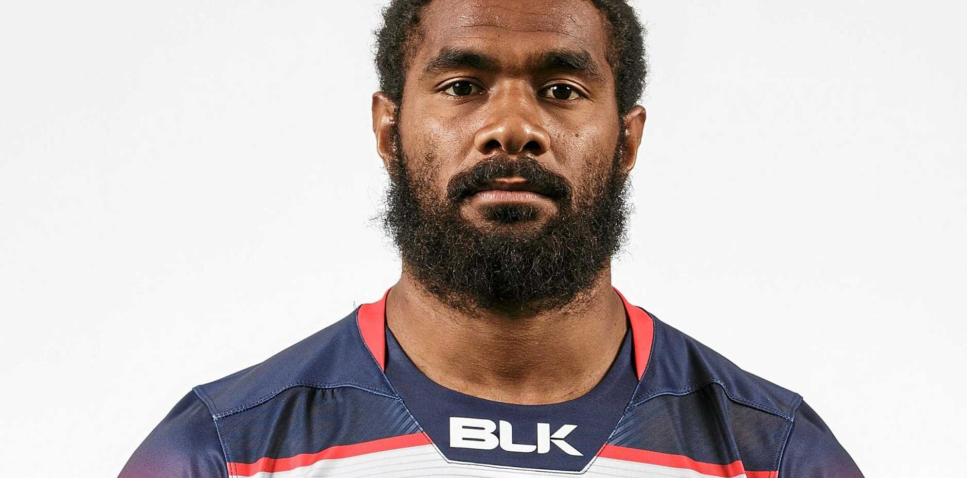 Melbourne Rebels recruit Marika Koroibete.