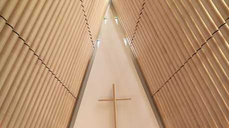 The Cardboard Cathedral in Christchurch.
