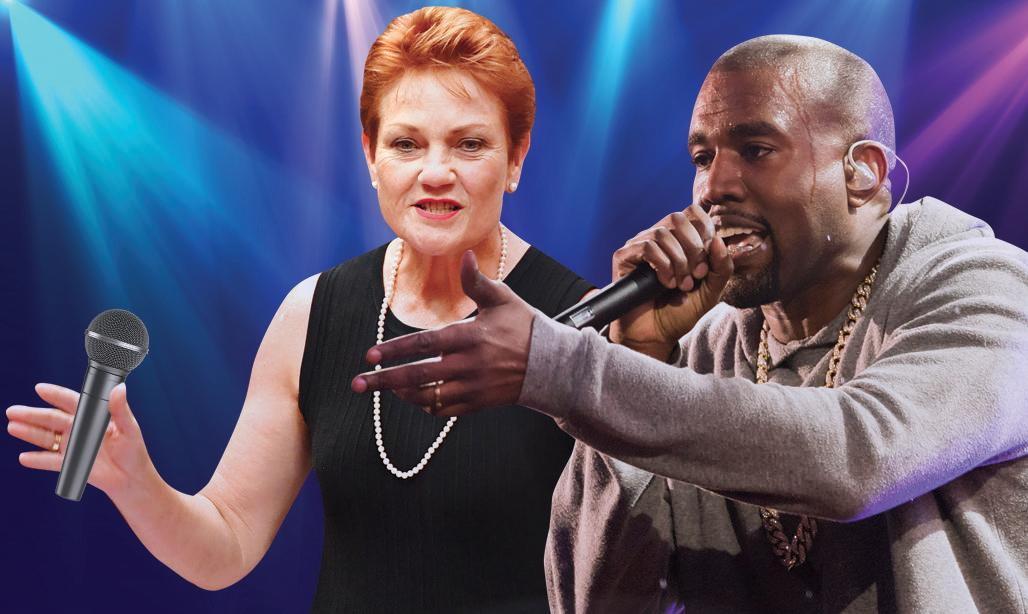 Pauline Hanson may have been listening to Kanye West in her spare time - she wants pre-nups for all newlyweds.