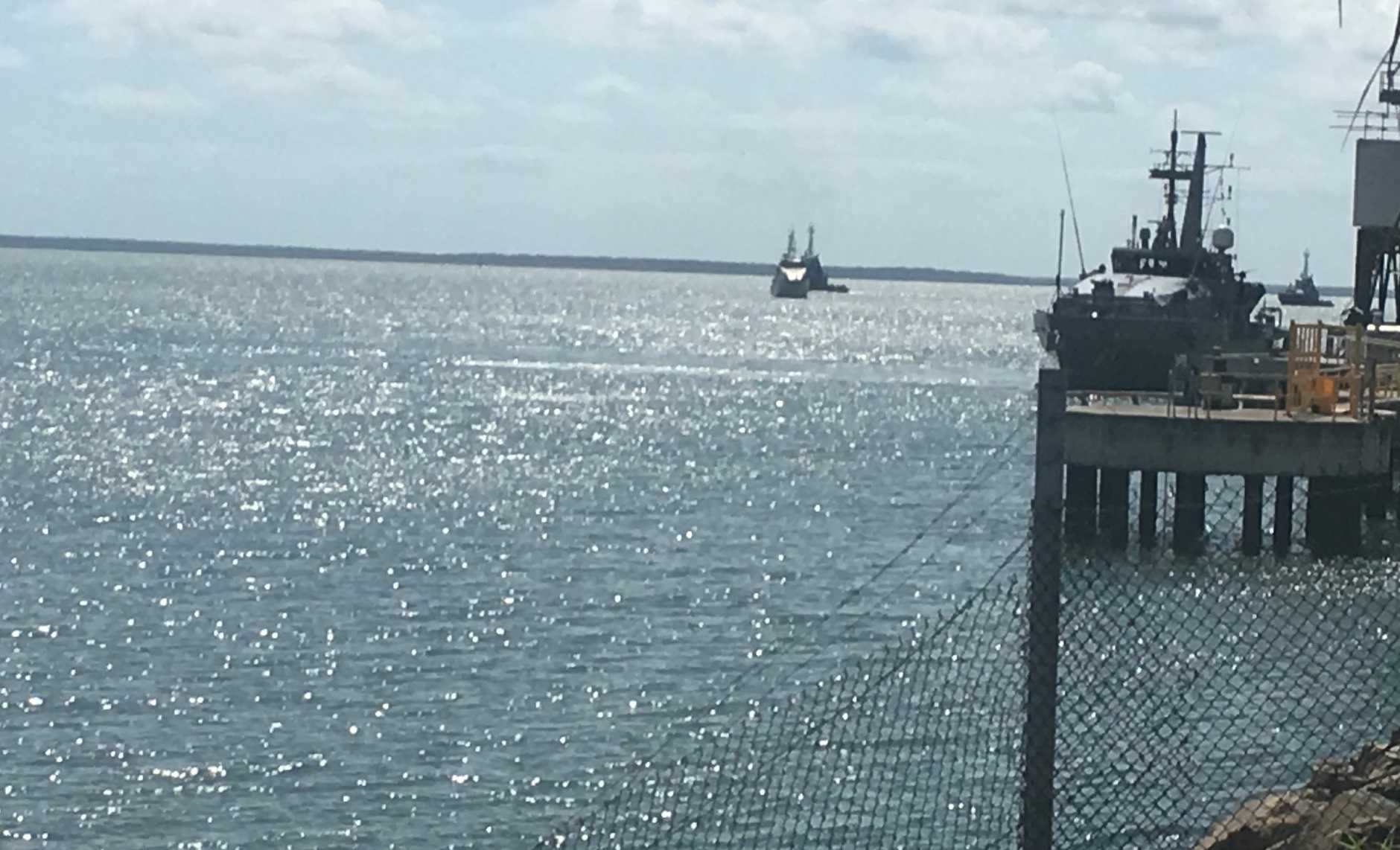 Police intercept two illegal fishing vessels off Gladstone reef