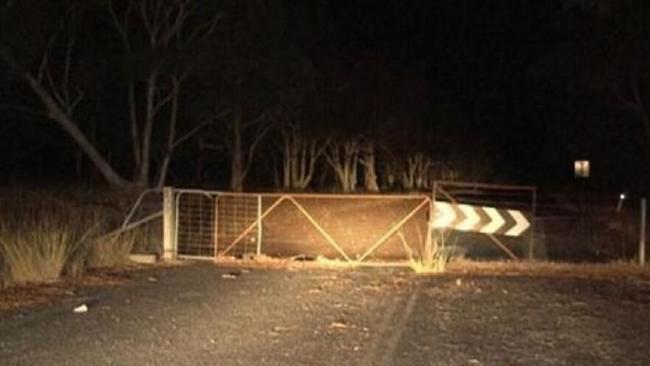 NSW farm tragedy: three dead. Image: Nine News