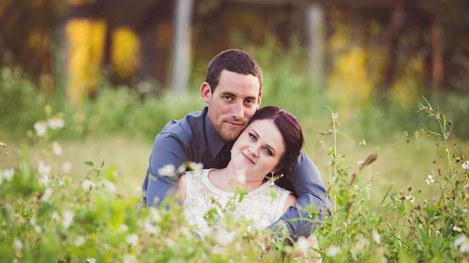 NEWLYWEDS: Mr and Mrs Friel said