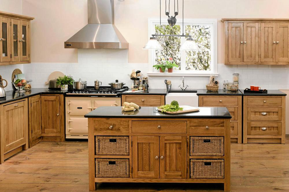 Early Settler offer a wide range of furniture options, including feature pieces for the kitchen.