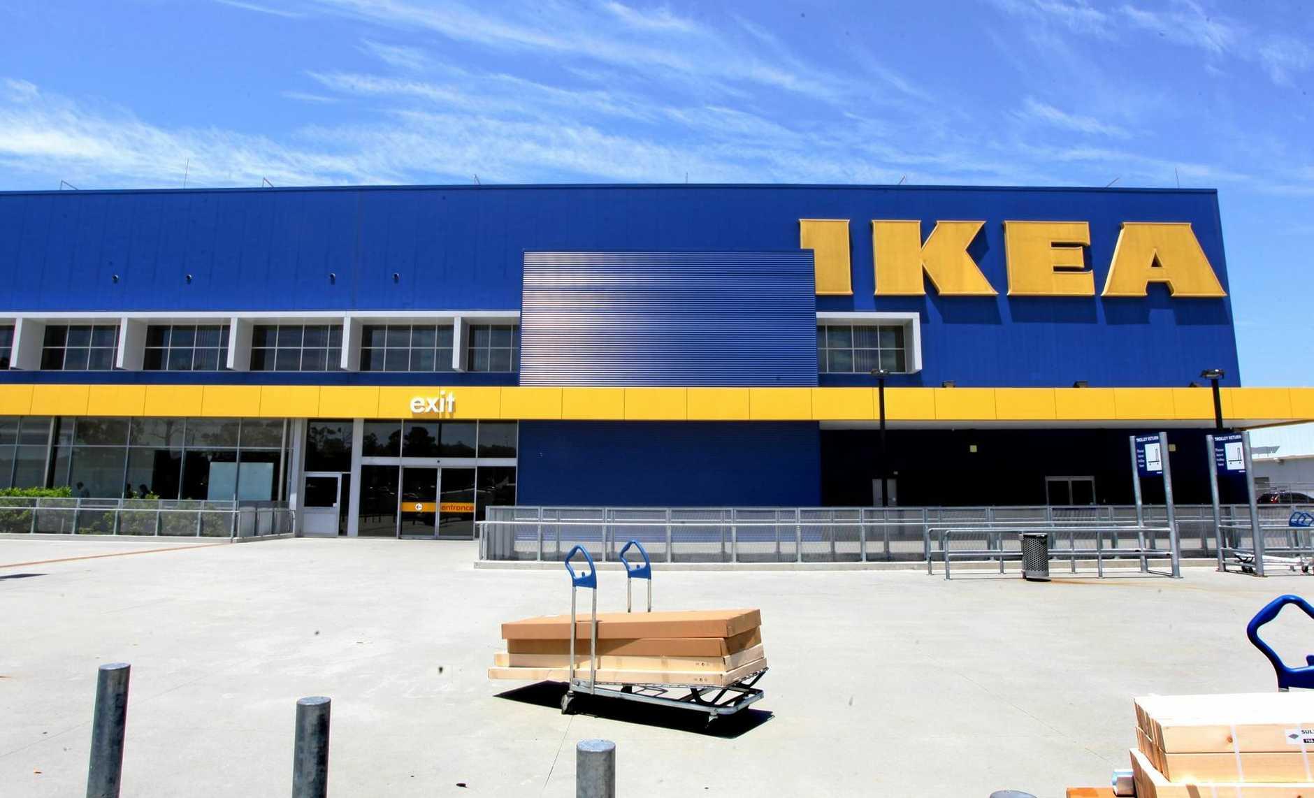 Ikea at Logan. Photo Inga Williams / The Reporter