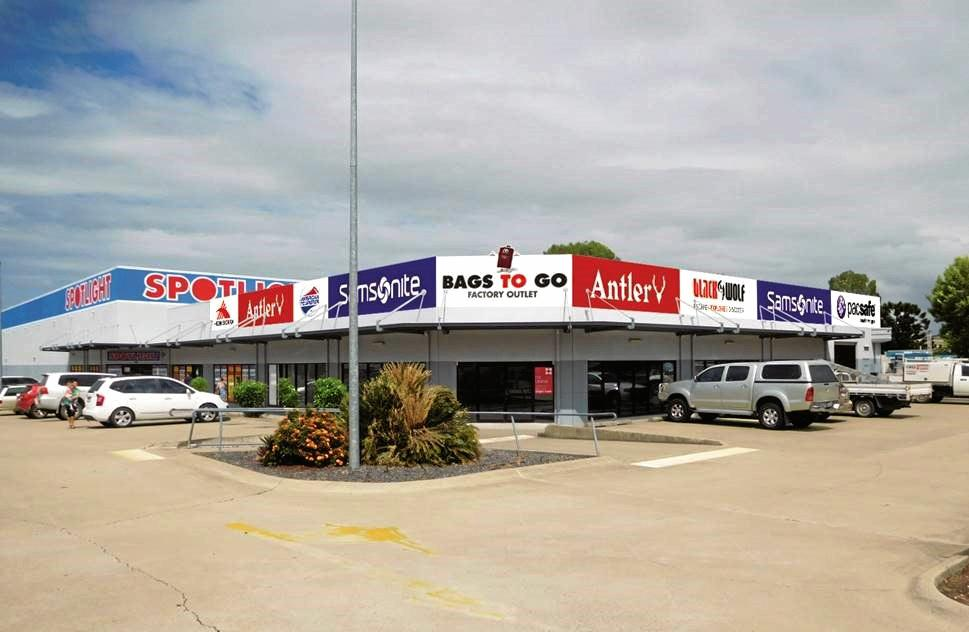 NEW STORE: The new Bags To Go Factory Outlet store on Yaamba Rd will open in March.