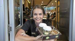 Zarraffa's coffee shop will reopen at a new location in North Rockhampton.