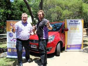 New car donated to Bundaberg Salvos