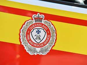 Firefighters rush to reported house fire